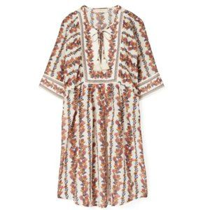 TORY BURCH Wonderland Vine Printed Beach Tunic
